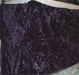 "Velvet Bedskirt Gold Plum King 14"" Drop Dust Ruffle Washable Polyester NEW - FUNsational Finds - 3"
