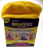 Snuggie Bright Eyes Kids 50x36 Throw Blanket Pillow Glow In The Dark Soft Cuddly - FUNsational Finds - 8