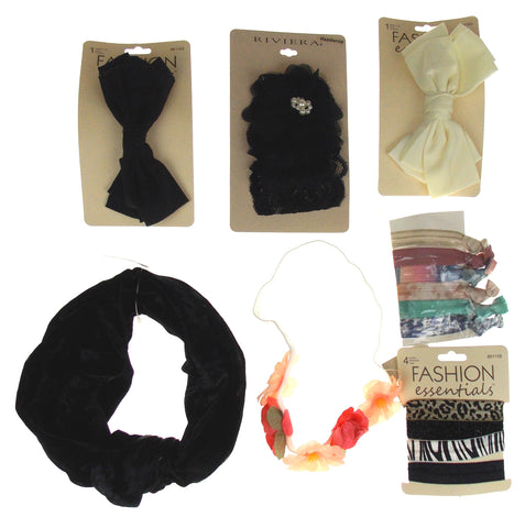 Hair Accessories Headband Clips Elastic Fashion Essential Urban Outfitters Lot 7