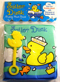 Lot 2 Sailor Duck Bath Baby Book Bubble Wand Bubbly Toy Wipe Clean Nolan Rinaldo - FUNsational Finds - 2