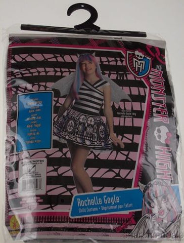 Monster High Rochelle Goyle Child Costume M 8-10 Halloween Purim Rubies Girls - FUNsational Finds