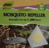 Lot 3 PIC Mosquito Biting Insects Repeller Pyramid Citroneella Plus Deet Free - FUNsational Finds - 3