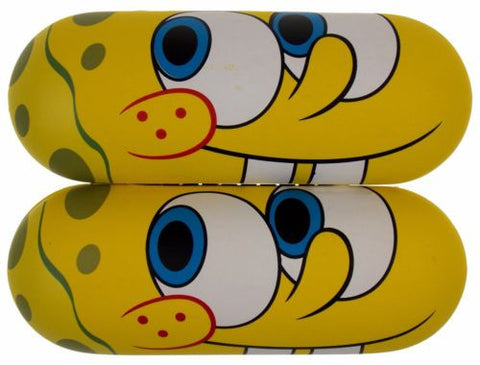 Lot 2 Nickelodeon Spongebob Squarepants Eye Sun Glasses Hard Case Yellow License - FUNsational Finds - 1