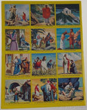 Golden Stamp Book Story Of Jesus 6th Printing 1979 Stickers Vintage Watson Leone - FUNsational Finds - 2
