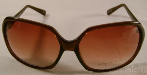 Nicole Miller Signature Eyewear Sunglasses Oversized Large Brown Oval 60-16-125 - FUNsational Finds - 1