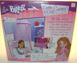 "Livin Bratz Comfy Cozy Bed Canopy Fashion Princess Pink Netting 18""x115"" Decor - FUNsational Finds - 1"
