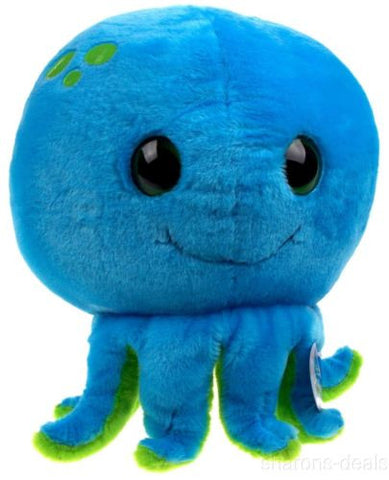 "Sea World Blue Octopus 9"" Bubble Zoo Plush Toy Soft Stuffed Animal Embroidered - FUNsational Finds - 1"