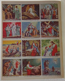 Golden Stamp Book Story Of Jesus 6th Printing 1979 Stickers Vintage Watson Leone - FUNsational Finds - 3