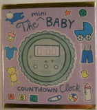 Mini Baby Countdown Digital Clock Tracy Guth Spangler Mega Kits 32 pg Book Gift - FUNsational Finds - 1