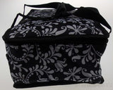 Black White 13 x 8 Rectangle Casserole Food Dish Insulated Travel Carry Bag Tote - FUNsational Finds - 4