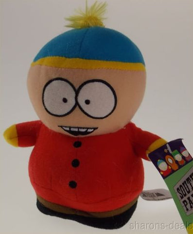 "Comedy Central South Park Cartman Plush 7"" Holidays Hankeys Book Bendable Figure - FUNsational Finds - 1"