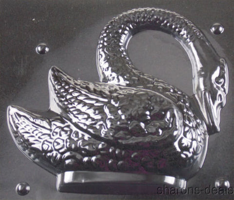 "8"" Swan Chocolate Mold Life Of The Party 3D W300 Wedding Shower Candy Soap NEW - FUNsational Finds - 1"