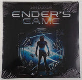 Lot 2 Enders Game Movie Scenes Novel 2014 Wall Calendar Collectible Sealed NEW - FUNsational Finds - 2