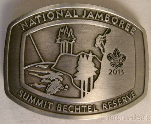 Boy Scout 2013 National Jamboree Limited Silver Buckle Summit Bechtel Reserve - FUNsational Finds - 1