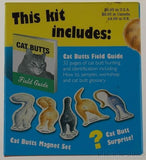 Cat Butts Magnets Field Guide Persian Siberian Siamese Surprise - FUNsational Finds - 2