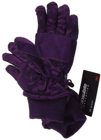 66f6fb39b ... Joe Boxer Girls Quilted Winter Gloves 3M 40g Thinsulate Snow Ski Hiking  Warm NEW - FUNsational ...