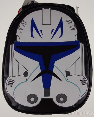Thermos Star Wars Clone Trooper Insulated Tote Bag School Lunch Box Mask Handle - FUNsational Finds - 1