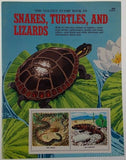 Golden Stamp Book Snakes Turtles Lizard Stickers 15th Printing 1981 Smith Irving - FUNsational Finds - 1