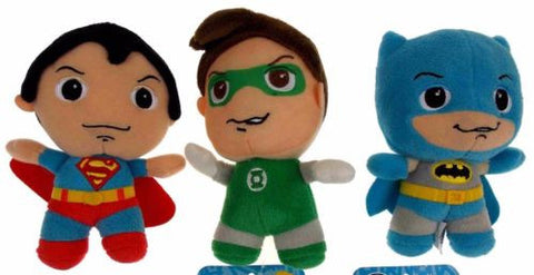 Lot 3 DC Comics Originals Little Mates Superman Batman Green Lantern Plush Set - FUNsational Finds - 1