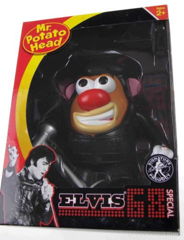 Elvis Presley 68 Special Mr Potato Head Hasbro Microphone Signature Product NEW - FUNsational Finds - 1