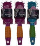Set 3 Goody Hairbrush Chic Touch Styling Ionic Shiny Frizz Free Comfortable Grip - FUNsational Finds - 3