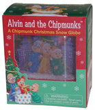 Lot of 2 Alvin & Chipmunks Christmas Snow Globe Caroling Simon Theodore Book NEW - FUNsational Finds - 2