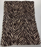 Set 2 Sherpa Pillow Shams Brown Animal Print Regal Comfort Luxurious DPS1004 NEW - FUNsational Finds - 4