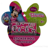Disney Minnie Mouse Daisy Duck Bow-tique 110 Sticker Roll Lot 10 Stickerfitti