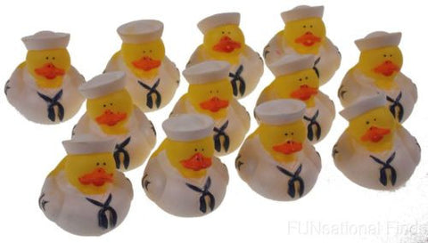 Set of 12 US Military Navy Rubber Ducks Duckie Party Favors Cake ...