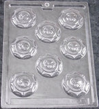 Lot 2 Firemans Badge Round Chocolate Mold Life Of The Party 3D J9 Candy Soap NEW - FUNsational Finds - 2