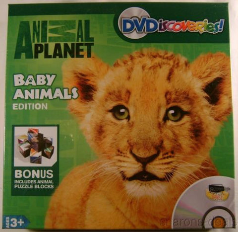 DVDiscoveries Animal Planet DVD Puzzle Blocks Mats Interactive Letters Counting - FUNsational Finds - 1