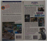 VHS VCR Tapes Lot 2 A Gathering Of Bears Voices From The Ice Alaska Travel NEW - FUNsational Finds - 2
