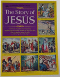 Golden Stamp Book Story Of Jesus 6th Printing 1979 Stickers Vintage Watson Leone - FUNsational Finds - 1