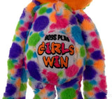 Peace and Love Frog Boys Play Girls Win Hanging Soft Plush Embroidered - FUNsational Finds - 2