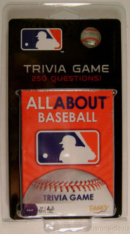 Lot 3 MLB All About Major League Baseball Trivia Questions 50 Card Game Sports - FUNsational Finds