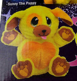 Ball Pets Sunny The Puppy Yellow Plush Stuffed Animal Toy Dog As Seen On TV NEW - FUNsational Finds - 1