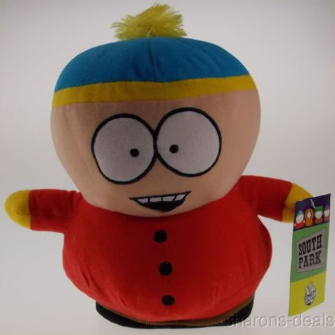 "Comedy Central South Park Cartman Plush 9"" Stuffed Toy Bendable Figure Book - FUNsational Finds - 1"