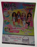 Moxie Girlz Doll Glitterin Style Avery Peel Sparkle Stick It Stickers Brush NEW - FUNsational Finds - 2