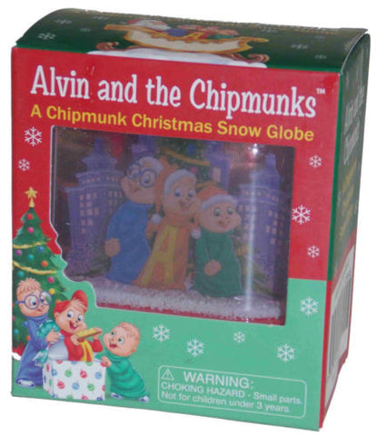 Lot of 2 Alvin & Chipmunks Christmas Snow Globe Caroling Simon Theodore Book NEW - FUNsational Finds - 1