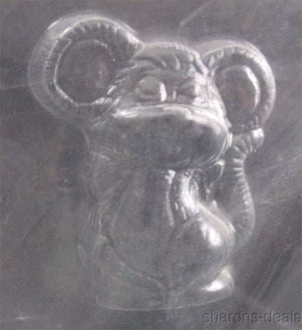 Cute Mouse Animal Chocolate Mold CybrTrayd Life Of The Party 3D A49 Candy Soap - FUNsational Finds - 1