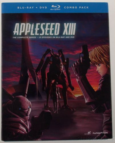 Appleseed XIII Complete Series Collection Blu-ray DVD 2013 5 Disc Set SciFi NEW - FUNsational Finds - 1