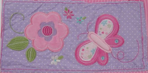 Garanimals Nappy Diaper Stacker Butterfly Blossoms Girl Pink Flowers Butterfly - FUNsational Finds - 1