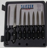Slitzer 17 Pc Professional Kitchen Knife Set Cutlery Stainless Steel Full Tang - FUNsational Finds - 2