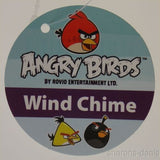 Angry Birds Wind Chime Yellow Crystal TNT Lock Rovio Chuck Speedy Patio Decor - FUNsational Finds - 2
