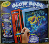 Crayola Glow Book Glowing Drawings Move Tracing Guides Markers Crafts Arts Paint - FUNsational Finds - 1