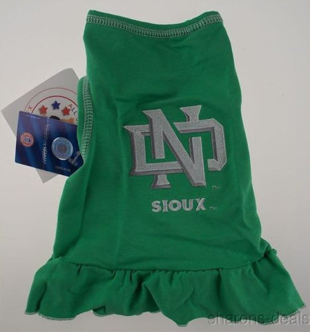 NCAA North Dakota Sioux Green All Star Dog Dress XS College Sports Football NEW - FUNsational Finds - 1