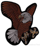 "Flying Screaming Eagle Patch Embroidered Motorcycle Rider Biker Jacket Large 15"" - FUNsational Finds - 1"
