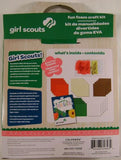 Lot 3 Girl Scout Fun Foam Craft Kit Idea Guide Projects Colorbok Crystals Gift - FUNsational Finds - 2