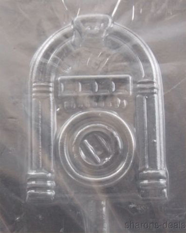 Juke Box Lollipop Chocolate Mold CybrTrayd M166 Life of the Party Lolly Candy - FUNsational Finds - 1