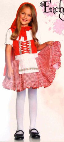 Leg Avenue Enchanted Girls XS Lil Miss Red Halloween Costume Purim 3T-4T - FUNsational Finds - 1